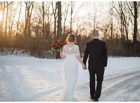 Taylor and Eric - The Perfect Winter Wedding - Lima, Ohio