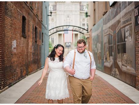 Ryan and Leah - The Skylight - Newark, Ohio