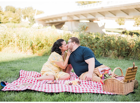 Ryan and Leah - Downtown Columbus, Ohio - Engagement Session