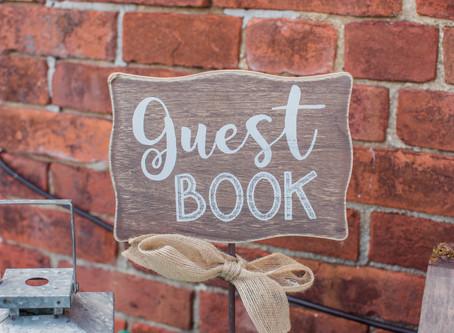 My Top 5 Favorite Guest Book Ideas