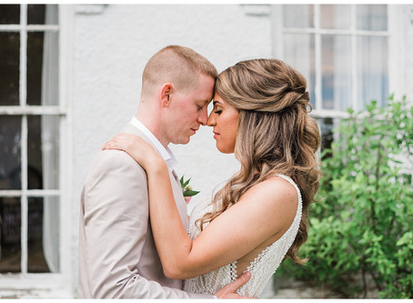 Elizabeth and Shawn Elopement - The Orchard House - Granville, Ohio