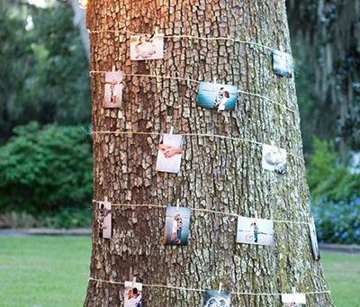 Creative Ways to Display Engagement Photos at Your Wedding