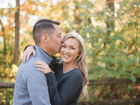 AJ and Jackie - Engagement Session - Slate Run Metro Park