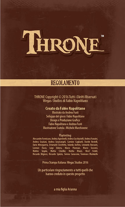 Throne | Retro Regolamento