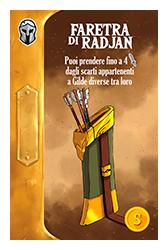Throne | Gioco da Tavolo - Faretra di Radjan