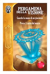 Throne | Gioco da Tavolo - Pergamena della Visione