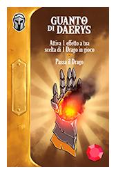 Throne | Gioco da Tavolo - Guanto di Daerys