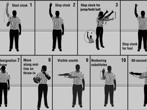 Official NFHS Basketball Signals