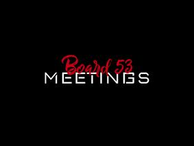 2021/2022 Meeting Schedule