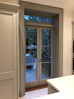 Tom Goldsmith Joinery - Glazed French Doors