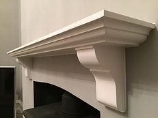 Tom Goldsmith Joinery - Ornate Oak Fireplace Mantel