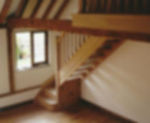 Tom Goldsmith Joinery - Open Rise Closed String Oak Staircase