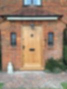 Tom Goldsmith Joinery - Solid Oak TG&V Front Door