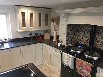 Tom Goldsmith Joinery - Handmade Painted Kitchen Units