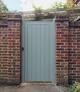 Tom Goldsmith Joinery - Handmade Side Gate