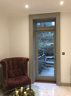 Tom Goldsmith Joinery - Glazed Door and Frame