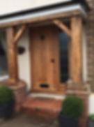 Tom Goldsmith Joinery - Solid European Oak Front Door