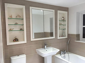 Tom Goldsmith Joinery - Bathroom Cabinet and Shelving Units