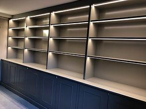 Tom Goldsmith Joinery - Illuminated Bookcase