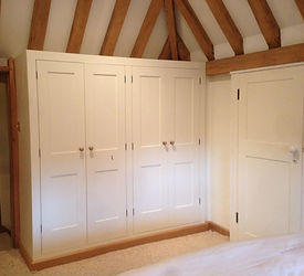 Tom Goldsmith Joinery - Shaker Style Fitted Wardrobe