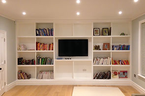 Tom Goldsmith Joinery - Multimedia Fitted Unit