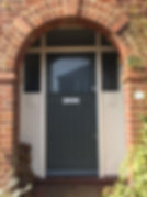 Tom Goldsmith Joinery - Period Front Door & Frame