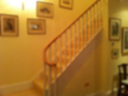 Tom Goldsmith Joinery - Straight Flight Closed String Staircase