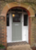 Tom Goldsmith Joinery - 1930's Front Door