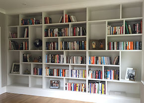Tom Goldsmith Joinery - Fitted Bookcase
