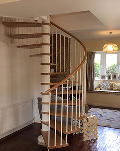 Tom Goldsmith Joinery - Beech Spiral Staircase