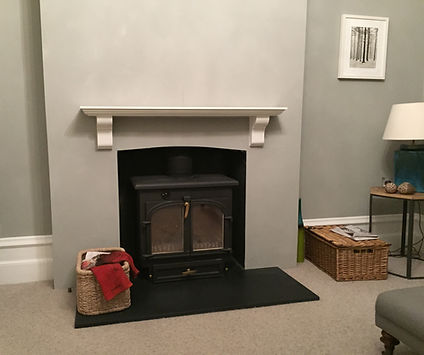 Tom Goldsmith Joinery - Fireplace Mantel