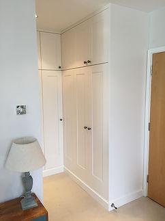 Tom Goldsmith Joinery - Fitted Corner Wardrobe