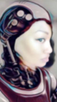 Robot Image of Founder of Black Fem Futurist