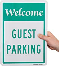 """""""Welcome, Guest Parking"""" Sign"""