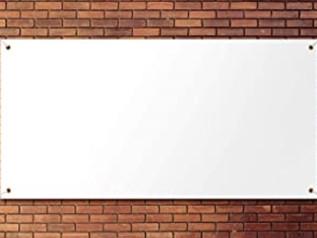 Sign Banner, Blank