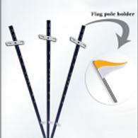 Real Estate Flag Pole Holder