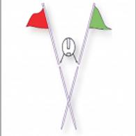 Real Estate Flag Metal Poles