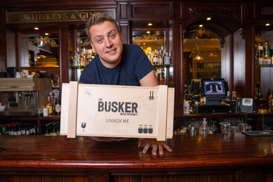 UNBOXING with Busker Irish Whiskey