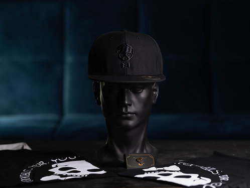 Signature Full Black Snapback
