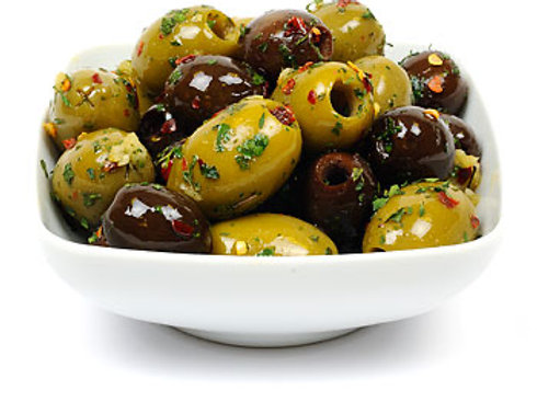 Small: Sicilian Nocellara olives 190g pot