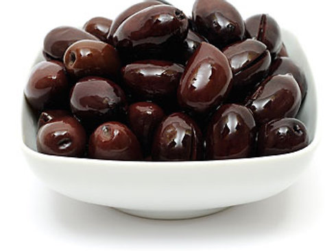 Large: Sicilian Kalamata Olives - 300g pot