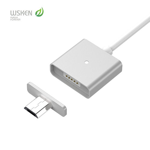 Kit4 Xcable WSKEN Single Metal Magnetic Micro USB Fast Charging X-CABLE