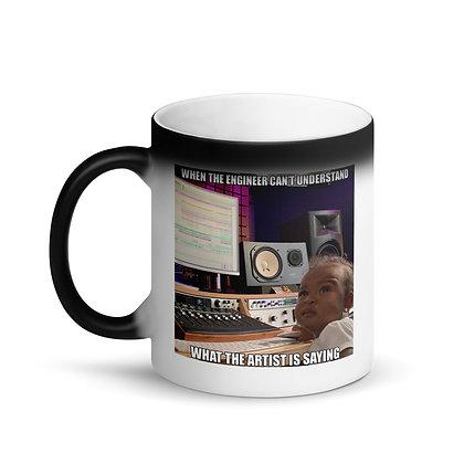 Baby Meme -Matte Black Magic Mug