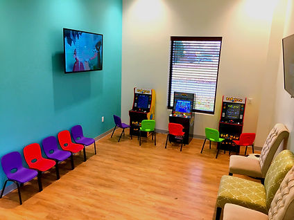 Nashville Pediatric Dentistry Waiting Room