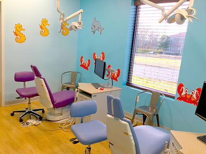 Nashville Pediatric Dentistry Hygiene Room