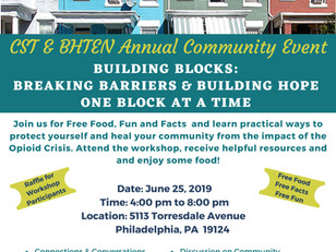CST & BHTEN Annual Community Event - June 25, 2019
