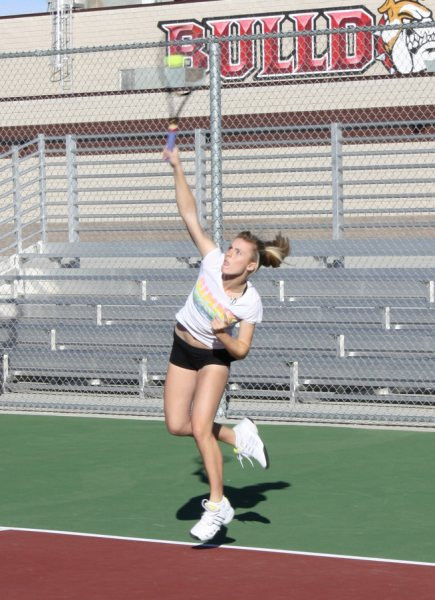 Perfect contact on serve