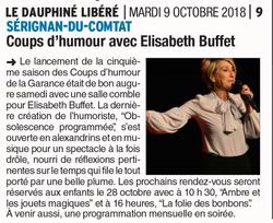 LE DAUPHINE ELISABETH BUFFET
