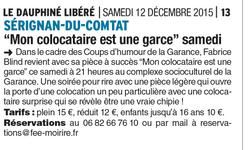 Le Dauphiné libéré 12 Décembre