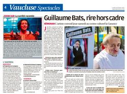 LA PROVENCE GUILLAUME BATS